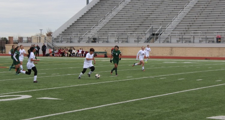 Photo for The Lady Rough Riders kick off Soccer season with their first scrimmage against Trimble Tech.