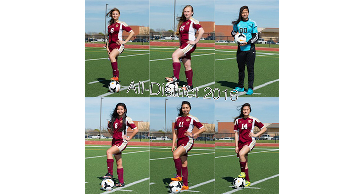 Photo for 2016 All District Honors - Girls Soccer
