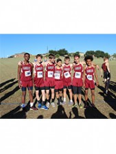 Boys' JV Cross  Country Team