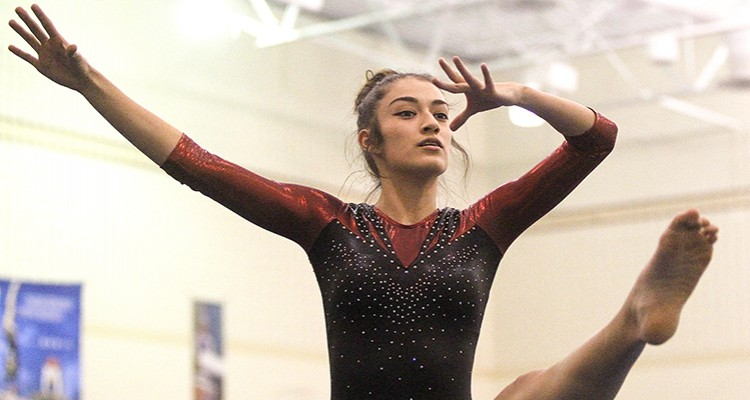 Photo for Saginaw Girls' Gymnastics Earn Highest Optional Score Of The Year
