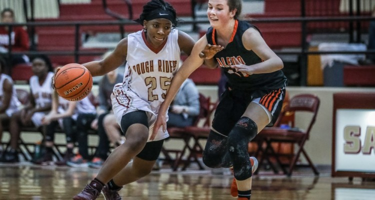Photo for The Lady Rough Riders Fall Short Of Aledo At Home