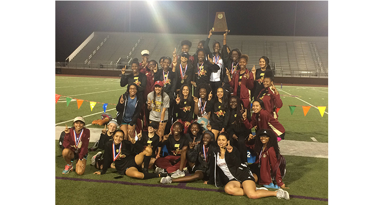 Photo for Saginaw Girls' Track and Field Become Back To Back District Champions
