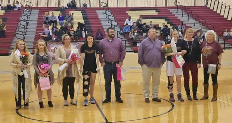 Photo for Senior Night For Lady Rough Rider Basketball