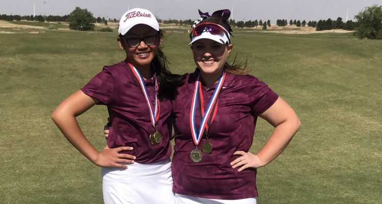 Photo for Two Lady Roughers Advance To The State Golf Tournament